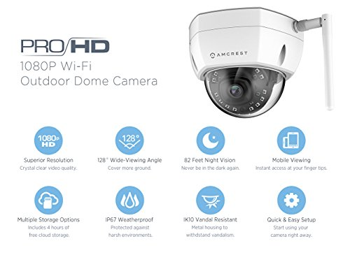 Buy wireless dome camera outdoor