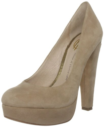 House of Harlow Callan, Damen Pumps Beige (Powder/antic bronze)