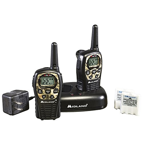 Midland LXT535VP3 22-Channel Camo GMRS with 24-Mile Range (Frs Gmrs Scanner)