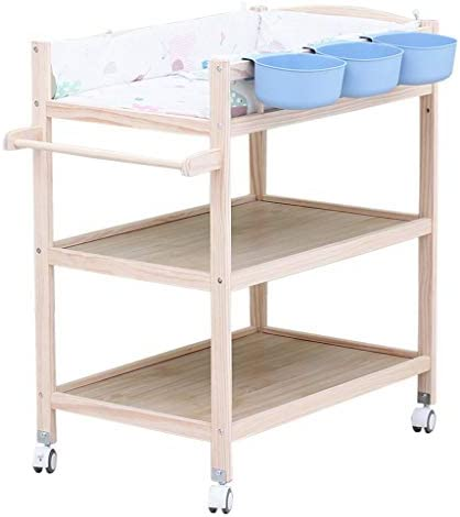 ベイビーチェンジステーション ストレージ付き 新生児のドレッサーテーブルの携帯用おむつのオルガナイザー、 マッサージステーション 世帯旅行のために、 スペースを節約 多機能
