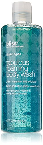 bliss Fabulous Foaming Body Wash, 16 fl. oz. (Cleanser Body Buffing)