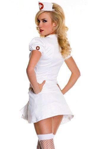 Amazon.com: RN on Duty Sexy disfraz de enfermera – Pequeña ...