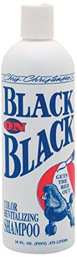 Chris Christensen Black on Black Shampoo, 16-ounce