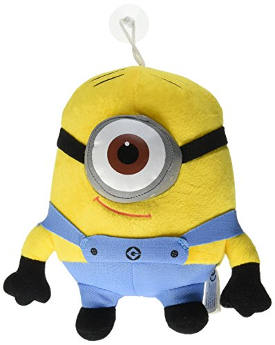 Despicable Me Deluxe 8-Inch Plush Figure Minion Stewart