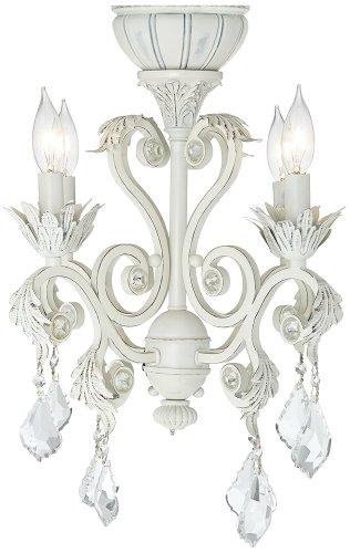 Universal Lighting 4-Light Rubbed White Chandelier Ceilin...