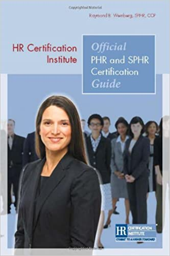 buy hr certification institute official phr and sphr certification ...