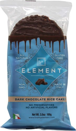 Element Dark Chocolate Rice Cakes, 3.5 oz (Pack of 1)