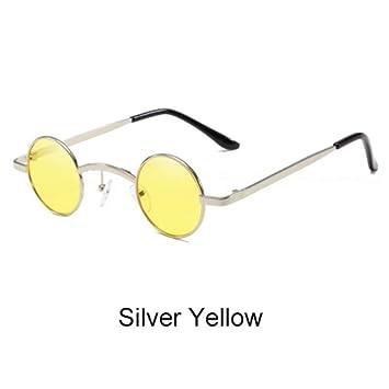 ZHOUYF Gafas de Sol Gafas De Sol Redondas Pequeñas ...