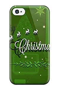 New Arrival Cover Case With Nice Design For Iphone 4/4s- Merry Christmas 2014