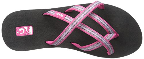 Teva Damen Olowahu Set aus zwei Paar Flip-Flops Mbob / Pintado Himbeere