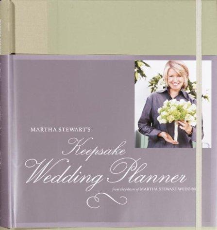 Martha Stewart's Keepsake Wedding Planner by Martha Stewart Living Magazine (August 26,2003)