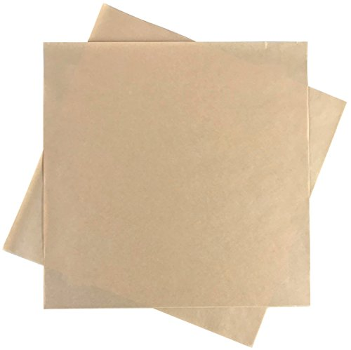 Rupert and Jeoffrey's Trading Co. Deli Squares - Paper Sheets (12'' x 12'') (Natural Brown - 250 Sheets) by Rupert and Jeoffrey's Trading Co.