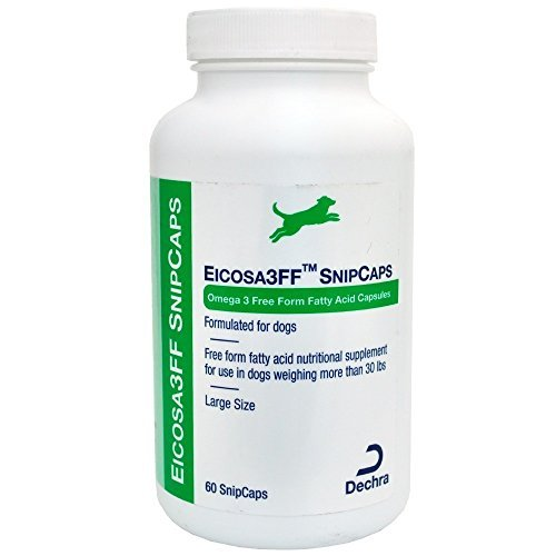 Dechra Eicosa 3FF SnipCaps Large Dogs over 30 lbs (60 count)