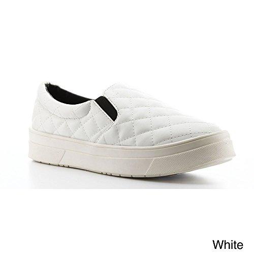 Slip Da Donna Sneaker Trapuntato Cape Robbin Adelaide-yx-3 Bianco