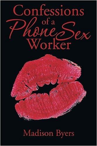 Online phone sex worker