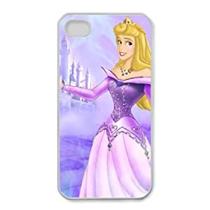 iphone4 4s White phone case Disney Princess Doornroosje DPC8447022