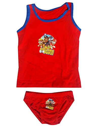 Paw Patrol Boys Official Vest and Knicker Underwear Set Age 2 to 8 Years