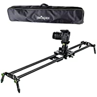 IMORDEN 32/80cm Carbon Fiber Video Stabilization Camera Slider(Up to 6kg/13.2lbs)Rail Dolly Track Film Making Kit for Canon, Sony and Nikon DSLR Camera with Environmental Carrying Bag