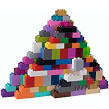 Strictly Briks Classic Big Briks Building Brick Set (204 Piece), Multicolor, Large
