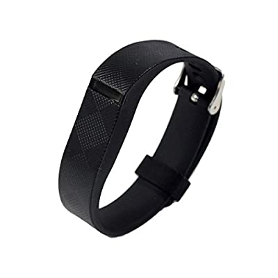 bayite Replacement Wrist Band with Watch Band Clasp Buckle and Fastener for Fitbit Flex