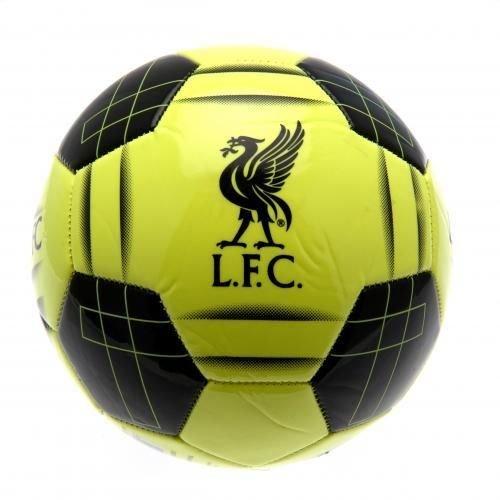 リバプールFCフットボールFluo – Official Licensed Football Clubサッカーボール B010QYAO3W