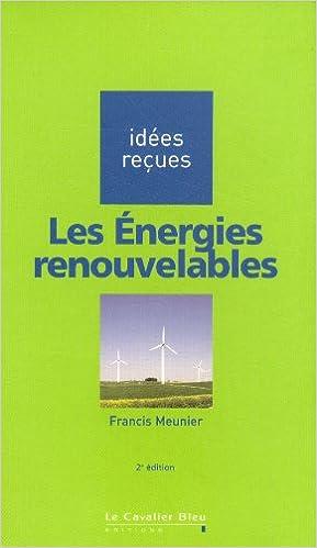 Livres gratuits en ligne Les énergies renouvelables pdf