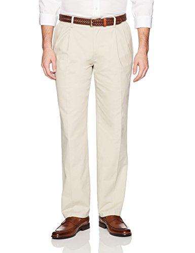 khaki cotton pants - 2