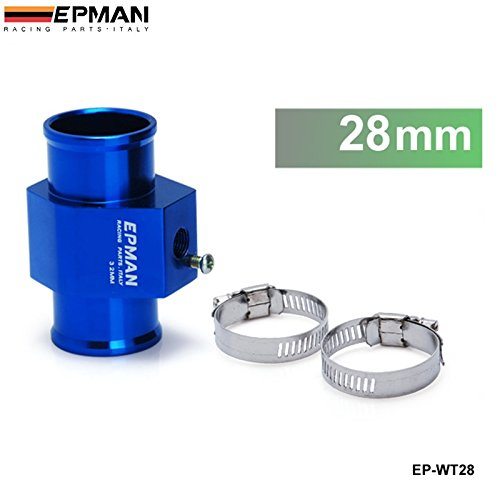 EPMAN Water Temp.Gauge Use a Commercial Sensor Attachment (28mm) Aluminum Blue RUIAN EP INTERNATIONAL TRADE CO. LTD