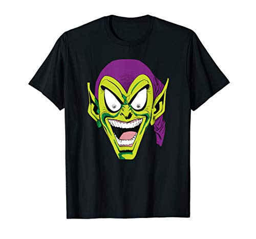 Marvel Spider-Man Green Goblin Laugh Graphic T-Shirt