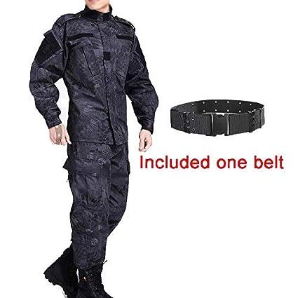 ATAIRSOFT Tactical Men BDU Combat Uniform Jacket Shirt & Pants Traje para Army Military Airsoft Paintball Hunting War Juego de Guerra TYP
