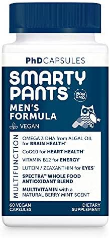 Multivitamins: SmartyPants PhD Men's Formula