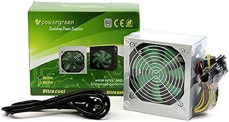 powergreen ATX-600-W Fuente de Alimentación 600W con ...