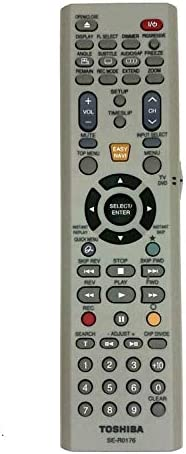 Amazon. Com: replacement remote control for toshiba dr4, dkr4su.