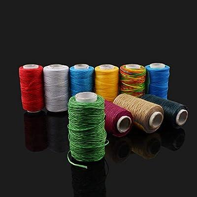 Sew Wax Line - Hilo de coser hecho a mano C: Amazon.es: Hogar