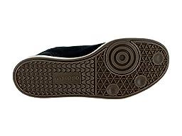 adidas Performance Men\'s Samba MC LTHR Shoe, Black/Black/Gold Metallic, 10.5 M US