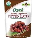 Organic California Deglet Noor Pitted Dates 2.5lb