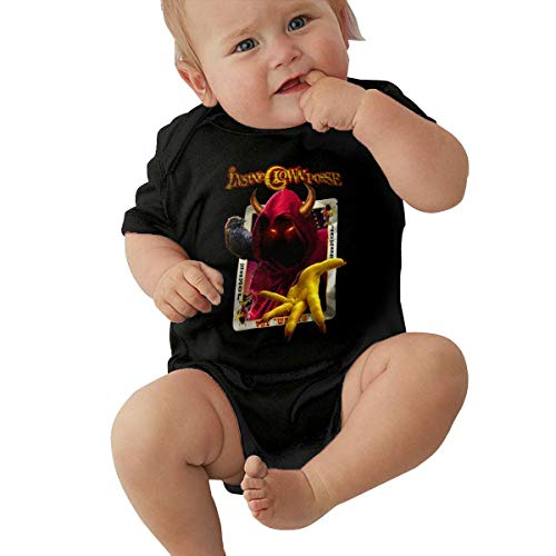 - JacobKThompson Insane Clown Posse Casual Style Black Short Sleeve Baby Suit 2T