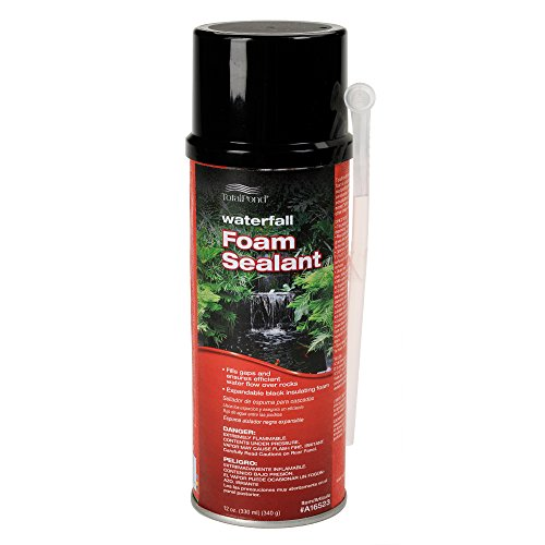 - TotalPond Waterfall Foam Sealant