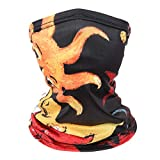 Balaclava Kids Neck Gaiter Kids Child Face Covering Gaiters for Kids Face Bandana Children 4pcs-A