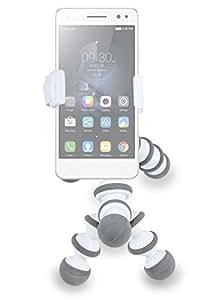 DURAGADGET Soporte / Pinza Para Smartphones - Perfecta Para Escritorio / Oficina / Casa - ¡Con Divertida Forma De Cebra!