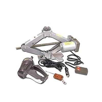 Huijunwenti Jack, Car 12v, Electric Jack, Portable, Hydraulic, Emergency Rescue Car Repair Tools