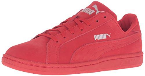 Puma Hommes Smash Buck Mono Mode Sneaker Risque Élevé Rouge