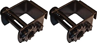 """(2) Portable Winches for Heavy Duty Tractor Trailers, Up to 4"""" Straps"""