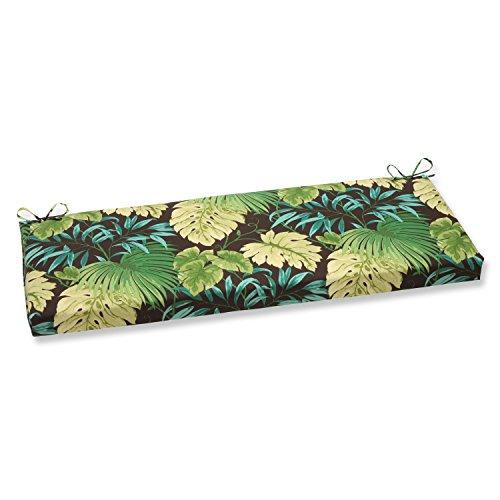 Pillow Perfect Tropique Bench Cushion, Green