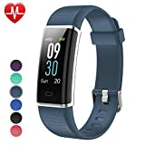 Willful Fitness Tracker, Heart Rate Monitor Fitness Watch Activity Tracker(14 Modes) Pedometer with Step Counter Sleep Monitor Call SMS SNS Notice for Women Men Kids (Color Screen,IP68 Waterproof)