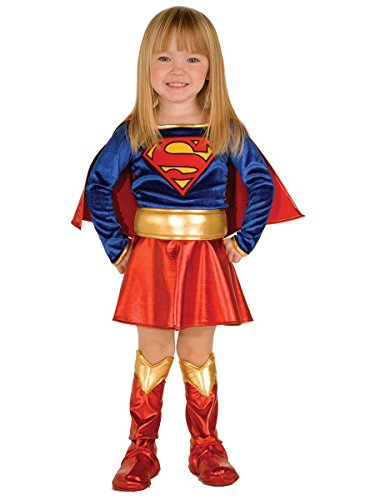 Super DC Heroes Supergirl Toddler Costume, (Size 2-4) -