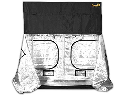 Gorilla Grow Tent GGT48 Tent, 4 by 8 by 6-Feet/11-Inch, Black