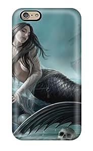 BowenTiffany MvrTnvT186lMozA Case Cover Iphone 6 Protective Case Beautiful Siren Lament By Ironshod