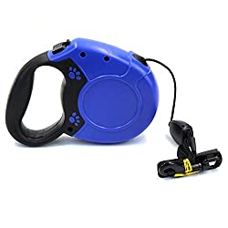 Retractable Dog Leash 26ft8m,walking Leash For Large Medium Dogs,one Button Instant Retraction