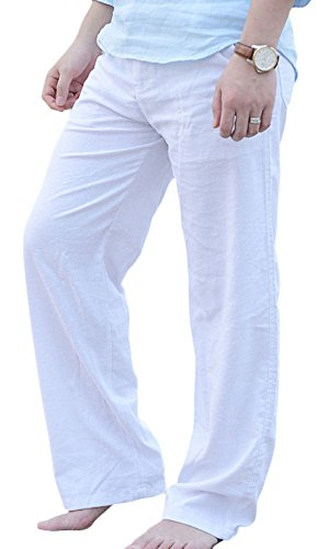 Drawstring Beach Pants - 1